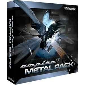 Presonus Ampire XT Metal Pack Studio One -ohjelmistoon