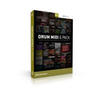Toontrack EzDrummer Midipack Sixpack