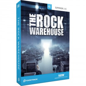 Toontrack Rock Warehouse SDX