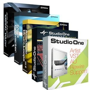 Presonus Studio One Artist Booster Pack