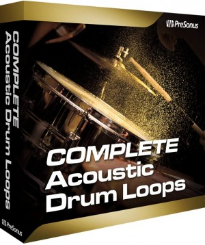 Presonus Acoustic Drum Loops vol. 2 - Complete